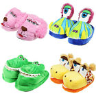 KIDS MAGIC MOVERS NOVELTY  ANIMAL SLIPPERS COMFY SOFT WARM STOMPEEZS TYPE GIFT
