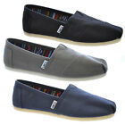 Toms Classic Canvas Shoes Mens Womens Unisex Genuine Loafers Summer Espadrilles