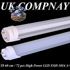 T8 LED TUBE Light  2ft  (60 cm) fluorescent replacement High power LED SMD 3014