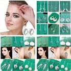 Special Price wholesale fashion beautiful Ladies solid 925silver Earrings+box