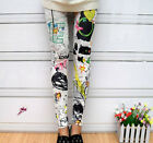 Women Vogue Girls Punk Funky Leggings Stretchy Pencil Skinny Sexy Pants