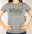 """VANS. """"UNITED STATES OF VANS"""". Women's T-Shirt. Sizes Small & Large. GREY."""