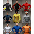 Mens Boys Rash Guard Long Sleeve Tops Shirt Swimwear Swimsuit Wetsuits Swimming