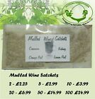 Mulled wine spice mix satchets for Christmas x 2, 5, 10, 20, 50, 100 - Post Free