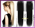 Clip In Pony Tail Hair Extension Wrap Around Ponytail Piece