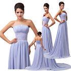 Stunning Beaded Evening Formal Ball Gown Party Prom Dresses Wedding Dress Long