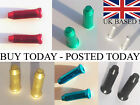 10 25 50 Anodised Alloy MTB/ Road Cycle Gear Bike Brake Inner Cable Ends Crimps