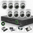 8 x Sony CCD Effio-e Outdoor Day Night Cam 8 Ch DVR CCTV System iPhone 3G H.264