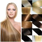 """AAAA Women's Straight Weft Weaving Remy 100% Real Human Hair Extensions 12""""-26"""""""