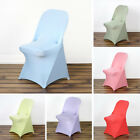 100 pcs SPANDEX Folding CHAIR COVERS Fitted Stretchable Wedding Decorations SALE