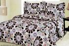 Reversible Comforter Set / Doona Quilt  Flower Sinlge ,  Queen , King Size Bed