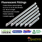 T4 & T5 Fluorescent Strip light Light Fittings Kitchen Cabinet RARE HARD TO FIND