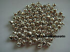 8mm Silver Colour Jingle Bells, Beads, Charms, Christmas Decoration