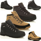 MENS GROUNDWORK SAFETY STEEL TOE CAP BOOTS LEATHER ANKLE SHOES WORK TRAINERS