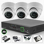 3 x Sony Effio-e Security 700TVL PTZ Port Cam 4 CH HDMI CCTV System wifi Wireles
