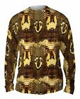Yizzam- Cobra Snake Skin - New Mens Long Sleeve Tee Shirt XS S M L XL 2XL 3XL 4