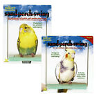 M65 JW Bird Sand Perch Cage Swing Toy Small Regular Cockatiel Budgie Parakeet