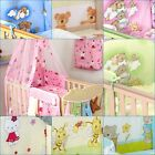 10 PCS ANTI- ALLERGY BEDDING SET TO FIT COT& COT BED -Pillow Duvet Canopy Holder