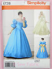Simplicity 1728 SEWING PATTERN Make Ladies Fairytale Princess Dress Gown/Costume