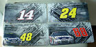 NASCAR License Plate Dale Earnhardt Jr, Tony Stewart, Jeff Gordon,Jimmie Johnson
