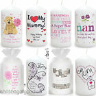 PERSONALISED Mum Mummy CANDLE Gifts Present for Birthday Christmas Mothers Day