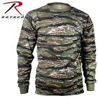 Tiger Stripe Camouflage Long Sleeve T Shirt Tactical Military Shirt Rothco 66787