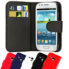 Leather Wallet Pouch Magnetic Flip Case Cover For SAMSUNG GALAXY S3 mini I8190