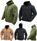 Tactical Recon Full Zip Hooded Fleece Jacket Army Hoodie Security Police Hoody