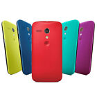 NEW GENUINE ORIGINAL MOTOROLA BACK DOOR BATTERY COVER HARD SHELL CASE FOR MOTO G