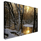 Winter Sunrise Canvas Wall Art Print Large + Any Size
