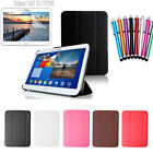 """Ultra Slim Leather Case Book Cover For 10.1"""" Samsung Galaxy Tab 3 P5210 P5200"""