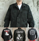 Workshirt Military Shirt Punk Vintage Pistols Exploited Discharge Crass Misfits