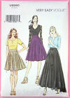 Vogue V8980 Sewing Pattern Misses' Skirt - Pleated - Very Easy