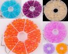 200pcs,23g Polyhedral Ball Acrylic Candy Color Spacer Beads 6mm