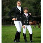 New Womens Equestrian Horse Riding Dressage Competition Show Jacket Sizes 6-14