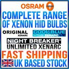 OSRAM COMPLETE HID XENARC (XENON) AUTOMOTIVE RANGE OF PRODUCTS SALE