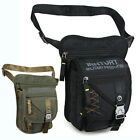New Men's Military Drop Leg bag Motorcycle Cycling Thigh Pack Waist bag Sport