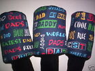 Best Dad Cool Dad Golf Headcover Single Size Pick Ur Size Golf Covers Sweet Gift