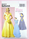 Butterick 6022 Sewing Pattern Misses' 1950's Period Dress/Bridal Gown Retro '52