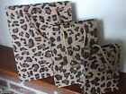 Animal Print Gift Bag Present Paper Wrapping Birthday Surprise 3 sizes  (216)