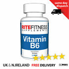 Vitamin B6 50mg - Essential for energy and the nervous system  FREE P&P
