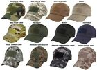 Military & Spec Op Low Profile Adjustable Tactical Hat Operator Caps Rothco 9362