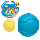 "JW Pet iSqueak Bouncin' Baseball SMALL 2"" Rubber Squeaker BALL Dog Squeaky Toy"