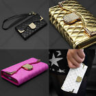Envelope Card Bling Wallet Leather Purse Case Cover for Samsung Galaxy S4