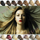 New full head set salon quality clip in human hair extensions 16''20''28''30''