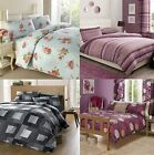 Fusion Furnishings Printed Bed Bedlinen Duvet Cover Sets, Various Styles & Sizes