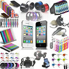 Apple iPhone 4S 4G 4 3GS 3 Funky Accessories Cases & Gadgets