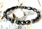 WOMEN'S Magnetic Hematite Bracelet / Anklet THERAPY POWERFUL STRONG 1-2-3 Row