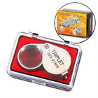 1Pc POCKET JEWELER LENS 30 X 21MM LOUPE MAGNIFYING EYE GLASS MAGNIFIER