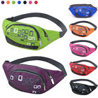 Simple Sport Bum Bag Unisex Waist Bag Zip Fanny Pack